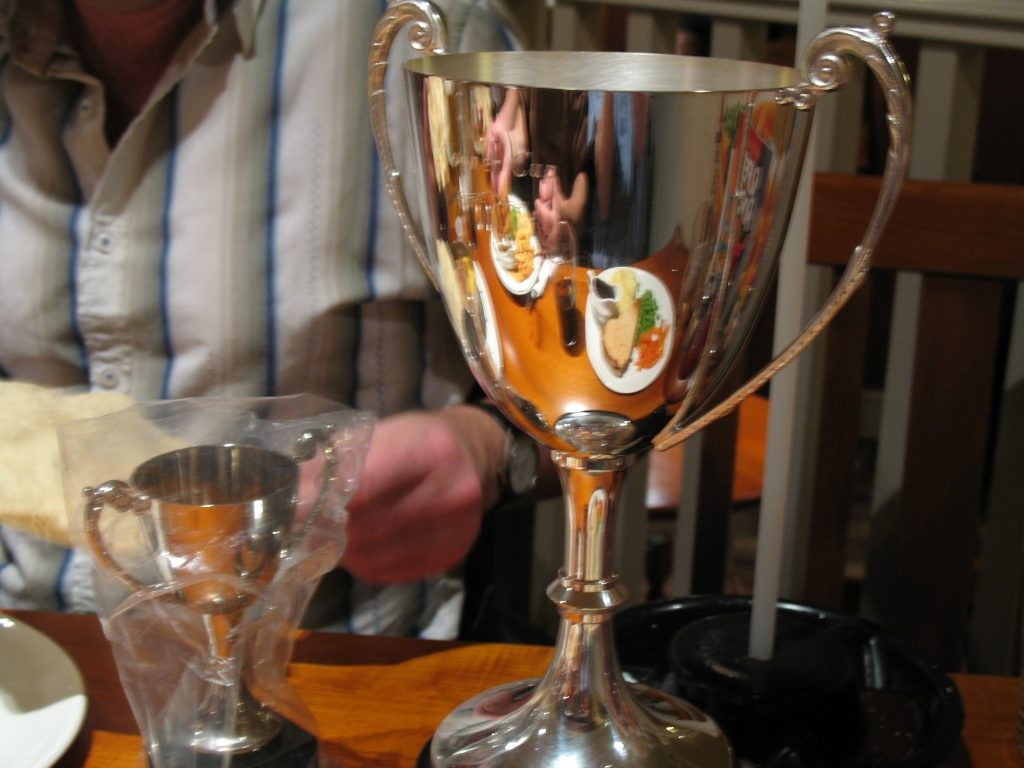 The shiny Kooner Cup