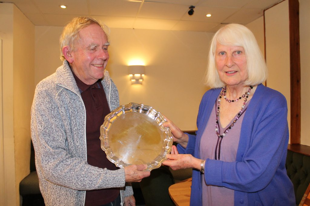 Winchester presented with Robertson Plate