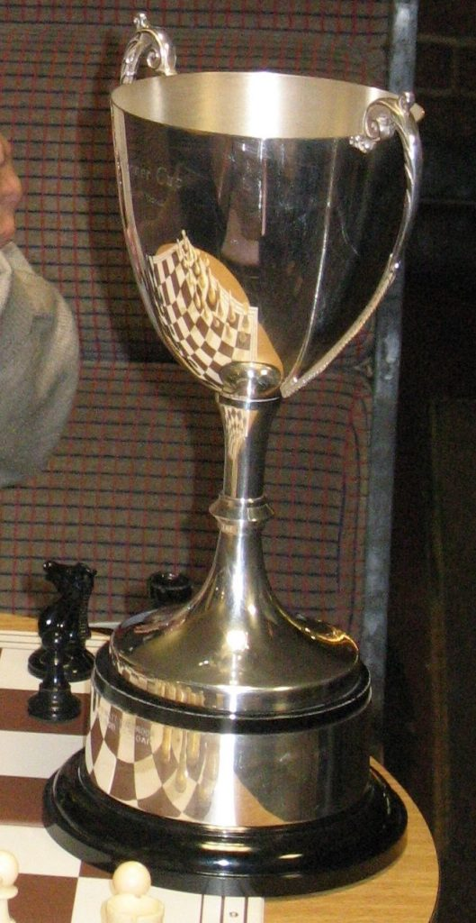 The Summer Tournament trophy - the Kooner Cup