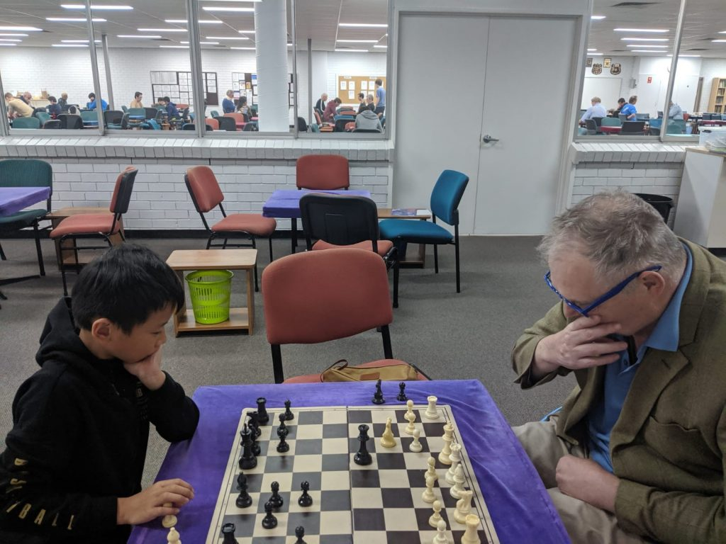 Steve plays Brisbane youngster Austin