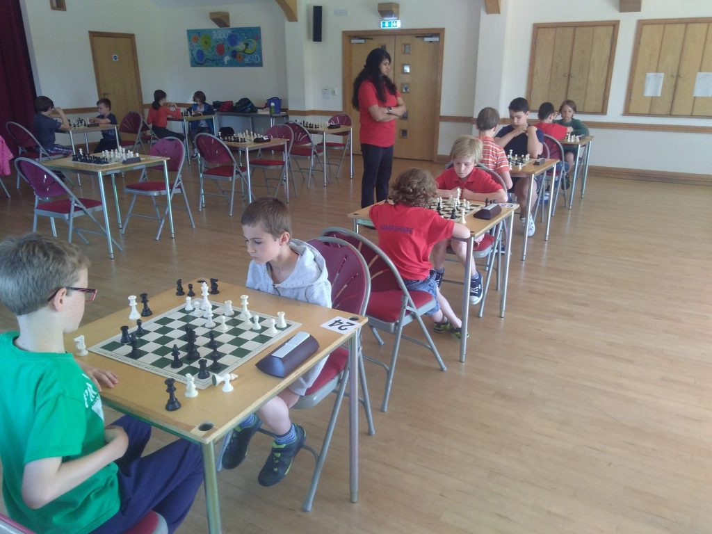 Chandlers Ford Junior chess club training