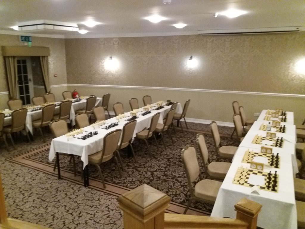 2019 Hampshire Congress playing venue at the Lysses hotel