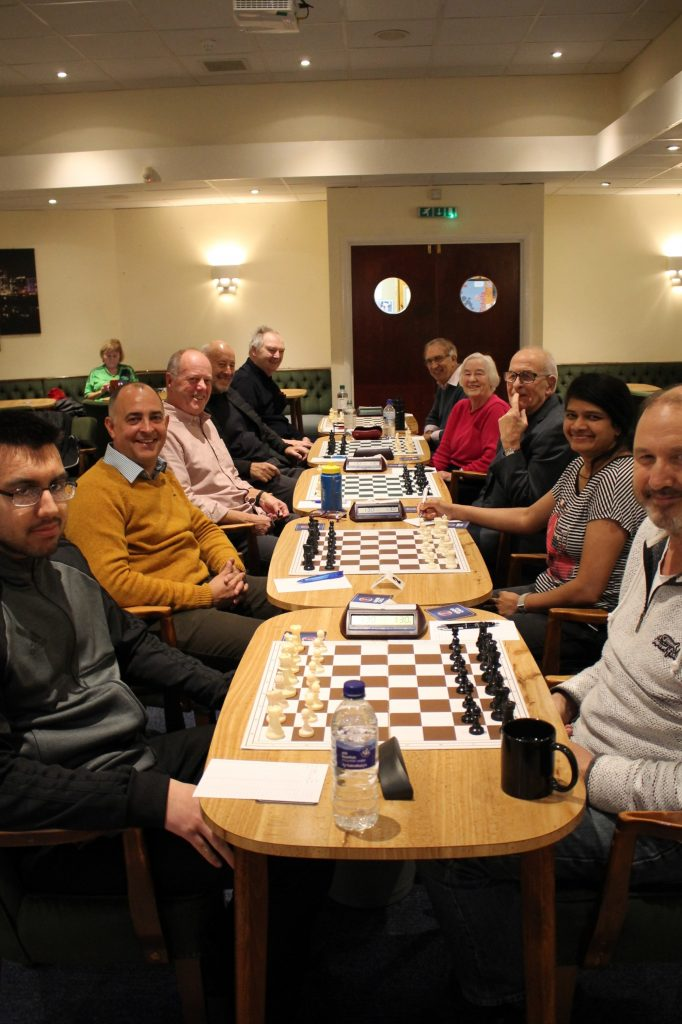 Chandlers Ford D v C in Division 5 Cup, 26 November 2019