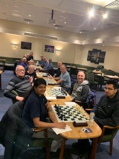 Chandlers Ford C (left) v D team (right) Tuesday 14th January 2020 (photo by Suzan Dunleavy)