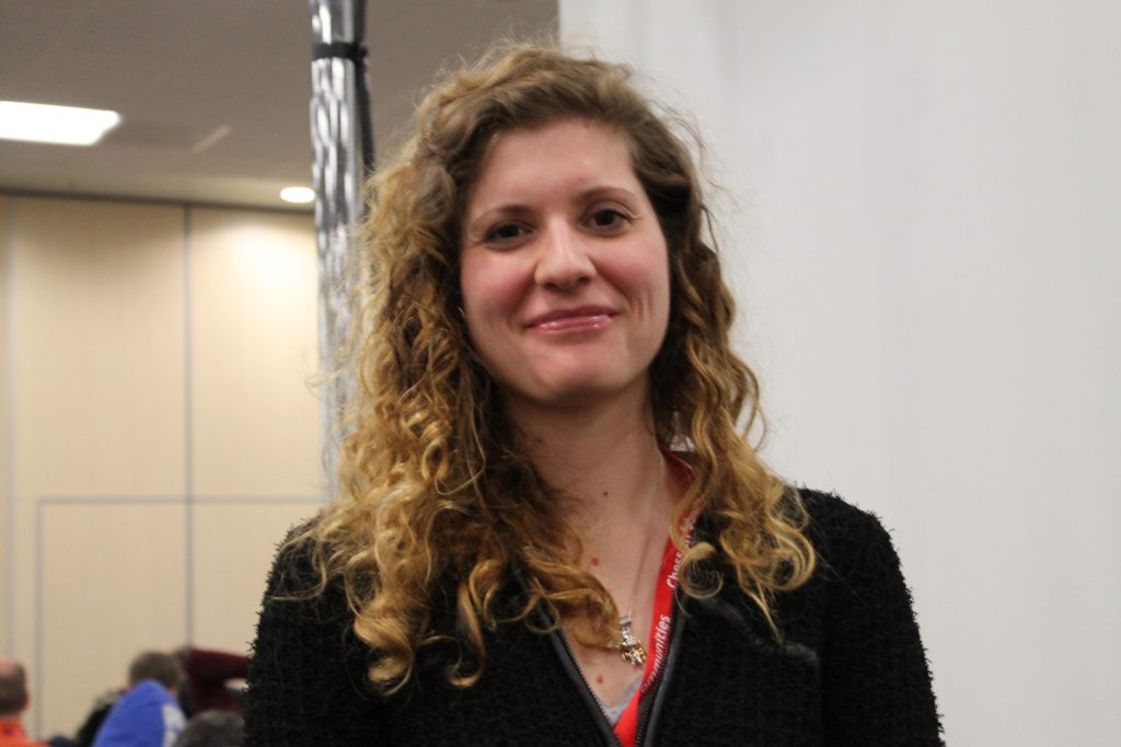 Jovanka Houska at the London Chess Classic 2012