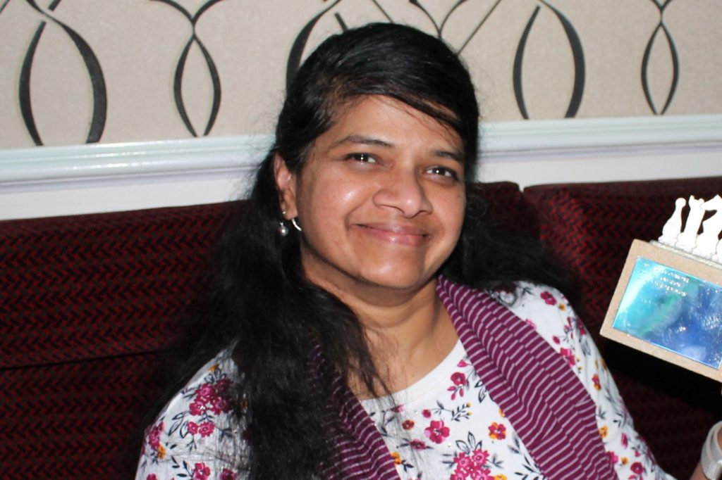 Maha Chandar, Chandlers Ford Junior Chess Club Organiser
