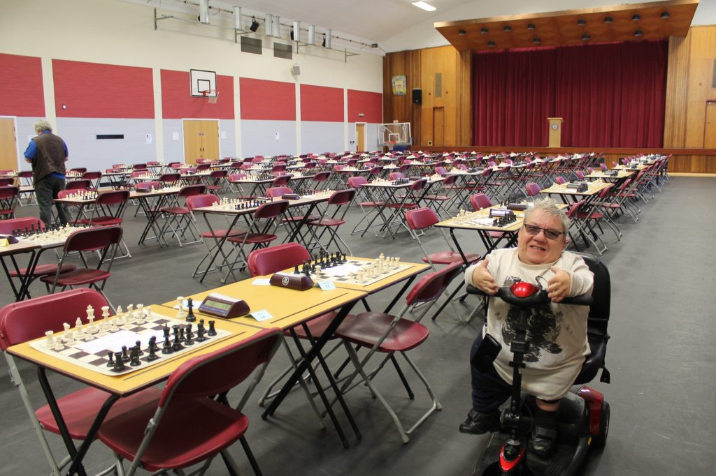 Mike Henbury at St Albans Chess Congress 2018